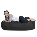 CuddleBag Kid Lounger with Matching Head Pillow and Ottoman