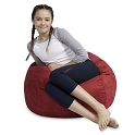 CuddleBag Kid Sack with Matching Head Pillow and Ottoman